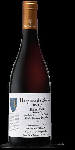 """HOSPICES DE BEAUNE - Beaune Premier Cru Cuvée """"Rousseau Deslandes"""" Rouge 2017"""