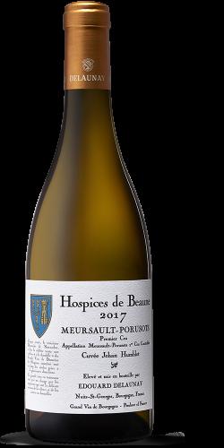 """HOSPICES DE BEAUNE - Meursault-Poruzots Premier Cru """"Cuvée Jehan Humblot"""" Blanc 2017"""