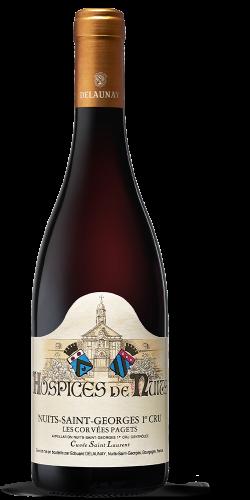 """HOSPICES DE NUITS - Nuits-Saint-Georges Premier Cru Les Corvée Pagets Cuvée St Laurent rouge 2020 """"En Primeur"""""""